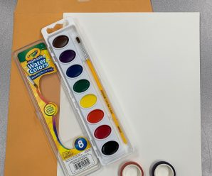 Take and Make Water Color Kit now available