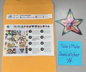 New Take and Make-  Suncatchers