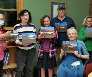 Great turnout for our Paint with Patrice class on 10.20.21!