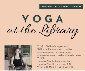 Yoga at the Library with Jacalyn Warshauer
